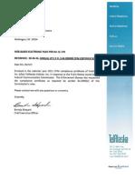 TCI 2011 CPNI Compliance Report