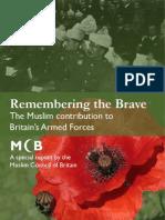 Rememberingt the Brave