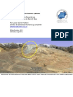 Special Report Waste Pile Collapse SPANISH - Barrick Proyecto Veladero