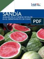 SANDÍA - Análisis de la cadena de valor en el Departamento de Concepción - USAID - PARAGUAY VENDE - PortalGuarani