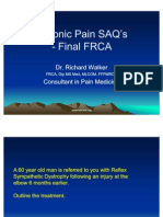 Chronic Pain SAQ's