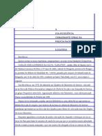 Folha 25 Linhas - Pedido de Re-colocao