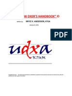 The New DX'Ers Handbook