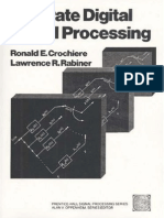 Multirate Digital Signal Processing Crochiere-Rabiner
