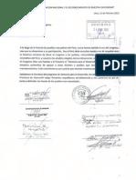 Cartas respaldo Municipalidades Programa Gestores