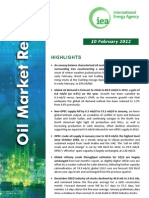 IEA - Monthly Oil Market Report