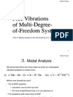10 Plus - Multi DOF - Modal Analysis