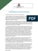 Analisis Militar, El Palacio de Justicia.