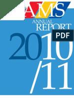 AMS Annual Report 2010-2011