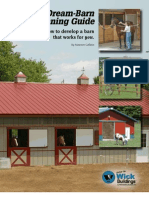 Dream Barn Planning Guide