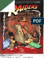 Indiana Jones - IJ2 Raiders of the Lost Ark