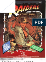 Indiana Jones - IJ2 Raiders of the Lost Ark