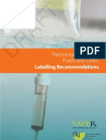 31170 Parenteral Labelling Recommendations