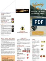 2011 Motorcycle Manual