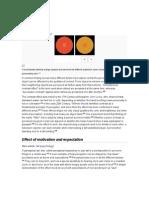 Factors of Perception