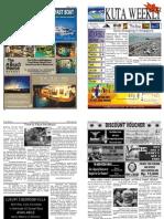 "Kuta Weekly-Edition 273 ""Bali""s Premier Weekly Newspaper"""
