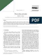 Photo Voltaic Principles