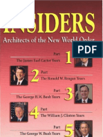 The Insiders, Architects of the New World Order
