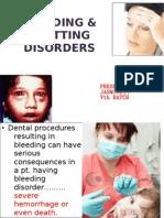 Bleeding Clotting Disorders