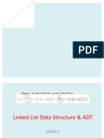 Linked List Data Structure & ADT