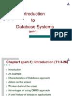 DBMS First Chapter Part-1 2011