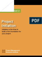 2 - Project Initiation