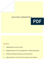 New Modified Presentation for Electrochemistry