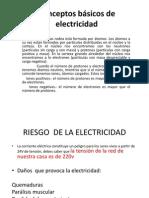 Conceptos básicos de electricidad