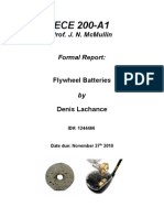 Flywheel Battery