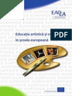 Educatie Artistica Si Culturala in Scoala Europeana