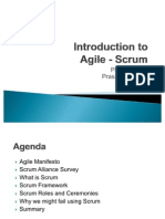 Agile Scrum Introduction