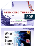 Stem Cell Therapy Ppt