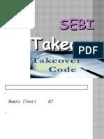 Sebi Takeover Code
