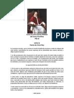 Carta Enciclica del Sumo Pontifice Pio XI sobre Cristo Rey