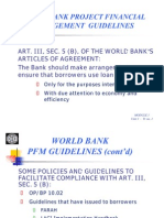 World Bank Project Financial Management Guidelines