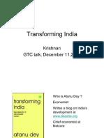 Transforming India