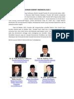 Susunan Kabinet Indonesia Jilid 2