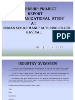 My Sugar Industry Ppt