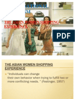 The Asian Women Shopping Experience