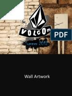 Volcom Summer 2012 Window-wall Design