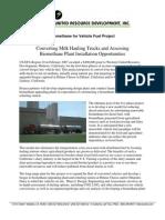 Bio Methane for Vehicle Fuel Background