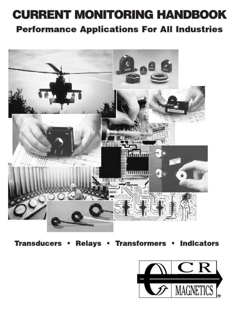 CR Magnetics CR4395-LH-24D-110-X-CD-ELR-I Current Sensing Relay with Internal Transformer 1-10 AAC Trip Range Latch on High Trip 24D VAC