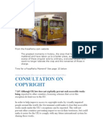 UK Copyright consultation DEC 2011 & Ms. Rosa Parks
