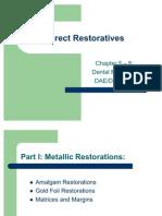 Direct Restoratives