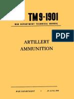 TM 9-1901 Artillery Ammunition 1944 - Chapter 01
