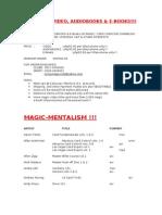 Magic Video List