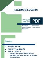 el bilingüismo en Aragón presentación