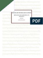 Glosario de La Web 2.0- Jackeline Fallas