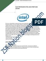 Perkembangan Processor Intel dan AMD