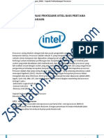 Perkembangan Processor Intel dan AMD
